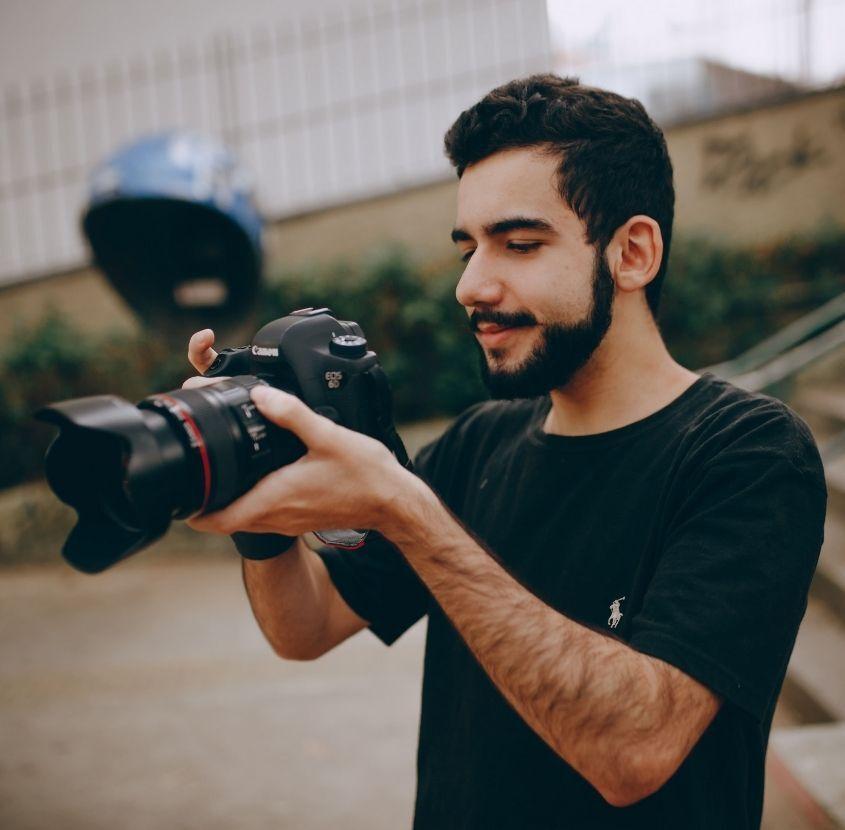 Fotografos paspartú enmarcado